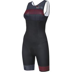 Santini Sleek 776 Strój triathlonowy bez rękawów Kobiety, blu airy